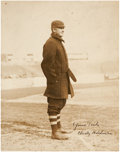 Autographs:Others, The Finest Christy Mathewson Signed Photograph Extant....