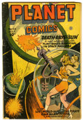 Golden Age (1938-1955):Science Fiction, Planet Comics #43 (Fiction House, 1946) Condition: Apparent GD....