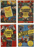 Golden Age (1938-1955):Classics Illustrated, Classic Comics Gift Box Set Group (Gilberton, 1940s).... (Total: 25Items)