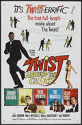 """Movie Posters:Rock and Roll, Twist Around the Clock (Columbia, 1961). One Sheet (27"""" X 41""""). Rock and Roll.. ..."""