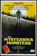 """Movie Posters:Documentary, The Mysterious Monsters (Sunn Classic, 1975). One Sheet (27"""" X 41""""). Documentary.. ..."""
