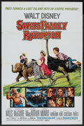 "Movie Posters:Adventure, Swiss Family Robinson (Buena Vista, R-1972). One Sheet (27"" X 41"").Adventure.. ..."
