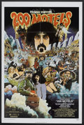 "Movie Posters:Rock and Roll, 200 Motels (United Artists, 1971). One Sheet (27"" X 41""). Rock andRoll.. ..."