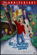 """Movie Posters:Fantasy, Willy Wonka & the Chocolate Factory (Warner Brothers, R-1996). One Sheet (27"""" X 40"""") SS 25th Anniversary Style. Fantasy.. ..."""