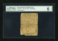 Colonial Notes:Pennsylvania, Pennsylvania May 20, 1758 20s PMG Good 6 Net....
