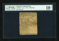 Colonial Notes:Delaware, Delaware June 1, 1759 20s PMG Very Good 10 Net....