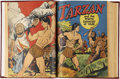 Golden Age (1938-1955):Adventure, Tarzan #1-206 And More Lot of 12 Bound Volumes (Dell/Gold Key, 1947-1972)....