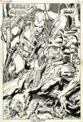 Original Comic Art:Splash Pages, Neal Adams and Tom Palmer X-Men #62 Magneto Splash Page 6Original Art (Marvel, 1969)....