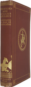 Books:First Editions, [Lucius Apuleius]. The Golden Asse of Lucius Apuleius.London: John Lane the Bodley Head, 1923. First edition, l...