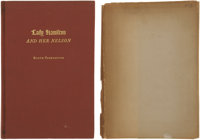 Booth Tarkington. Lady Hamilton and Her Nelson. New York, 1945. First edition, limit