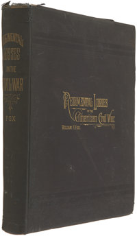 William F. Fox. Regimental Losses in the American Civil War 1861-1865. Albany, 1889. First edit