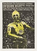 "Movie Posters:Science Fiction, Star Wars (20th Century Fox, 1978). Polish One Sheet (26.5"" X38"").. ..."