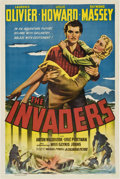 """Movie Posters:War, The Invaders (Columbia,1941). One Sheet (27"""" X 41"""").. ..."""