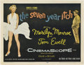 "Movie Posters:Comedy, The Seven Year Itch (20th Century Fox, 1955). Half Sheet (22"" X28"").. ..."