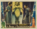 """Movie Posters:Horror, The Bride of Frankenstein (Universal, 1935). Lobby Card (11"""" X 14"""").. ..."""