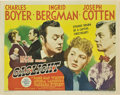 "Movie Posters:Film Noir, Gaslight (MGM, 1944). Half Sheet (22"" X 28"") Style B.. ..."