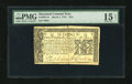 Colonial Notes:Maryland, Maryland March 1, 1770 $2/3 PMG Choice Fine 15....