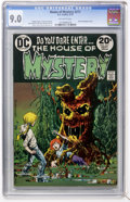 Bronze Age (1970-1979):Horror, House of Mystery #217 (DC, 1973) CGC VF/NM 9.0 Off-white pages....