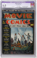 Golden Age (1938-1955):Adventure, Movie Comics #1 (DC, 1939) CGC Apparent FN 6.0 Slight (A) Off-white pages....