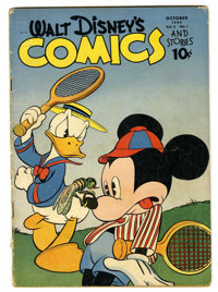 Walt Disney's Comics and Stories #49 (Dell, 1944) Condition: VG