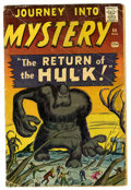 Silver Age (1956-1969):Horror, Journey Into Mystery #66 (Marvel, 1961) Condition: GD....
