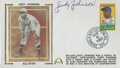 Autographs:Index Cards, Judy Johnson Signed First Day Cover. ...