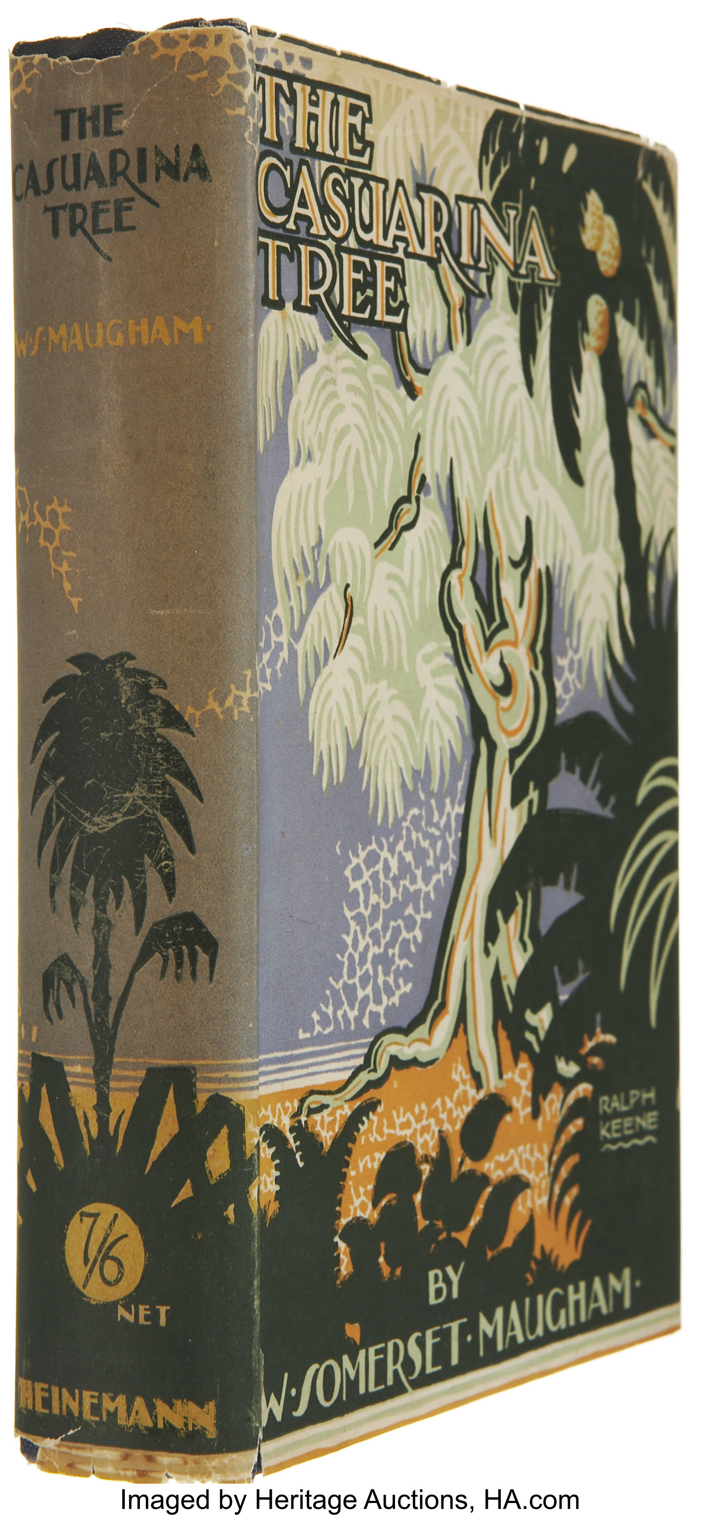W Somerset Maugham The Casuarina Tree London William Heinemann Lot 37417 Heritage Auctions