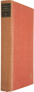 Books:Signed Editions, W. Somerset Maugham. Cosmopolitans. London: William Heinemann, 1936. Limited edition of 175 copies signed by the a...