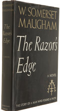 Books:First Editions, W. Somerset Maugham. The Razor's Edge. Garden City:Doubleday, Doran & Co., 1944. First trade edition. Publisher'sb...