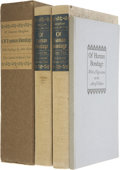 Books:First Editions, W. Somerset Maugham. Two Titles, including: Of HumanBondage, the two-volume LEC edition. Signed byillustrato... (Total: 3 Items)