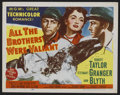 "Movie Posters:Adventure, All the Brothers Were Valiant (MGM, 1953). Lobby Card Set of 8 (11""X 14""). Adventure.. ..."
