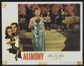 """Movie Posters:Crime, Alimony (Eagle Lion, 1949). Lobby Cards (6) (11"""" X 14""""). Crime.. ..."""