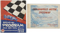 Miscellaneous Collectibles:General, 1949 Indianapolis 500 Publications Lot of 2. ...