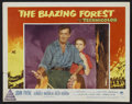 "Movie Posters:Adventure, The Blazing Forest (Paramount, 1952). Lobby Cards (7) (11"" X 14"").Adventure.. ... (Total: 7 Items)"