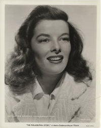 "Katharine Hepburn in ""The Philadelphia Story"" Still (MGM, 1940). Still (8"" X 10"")"