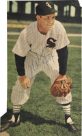 "Autographs:Photos, Nelson Fox Signed Magazine Photo (3-3/4""x6-3/4""). ..."