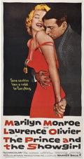 "Movie Posters:Romance, The Prince and the Showgirl (Warner Brothers, 1957). Three Sheet(41"" X 81"").. ..."