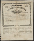 Confederate Notes:Group Lots, Ball 274 Cr. 133 $1000 1863 Bond Fine.. ...