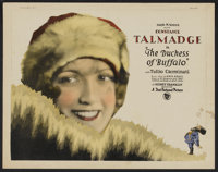 """The Duchess of Buffalo (First National, 1926). Title Lobby Card and Lobby Cards (4) (11"""" X 14""""). Comedy. ... (..."""