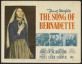 """Movie Posters:Drama, The Song of Bernadette (20th Century Fox, 1943). Title Lobby Card (11"""" X 14""""). Drama.. ..."""