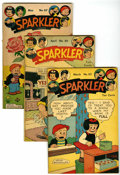 Golden Age (1938-1955):Miscellaneous, Sparkler Comics Group - Diamond Run pedigree (United Features Syndicate, 1945-50) Condition: Average FN-.... (Total: 22 Comic Books)