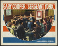 "Movie Posters:War, Sergeant York (Warner Brothers, 1941). Lobby Card (11"" X 14"").War.. ..."