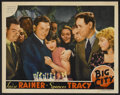 "Movie Posters:Drama, Big City (MGM, 1937). Lobby Card (11"" X 14""). Drama.. ..."