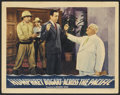 """Movie Posters:War, Across the Pacific Lot (Warner Brothers, 1942 & R-1952). LobbyCards (2) (11"""" X 14""""). War.. ... (Total: 2 Items)"""