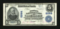 National Bank Notes:Maryland, Brunswick, MD - $5 1902 Plain Back Fr. 599 Peoples NB Ch. # 8244....