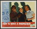 """Movie Posters:Horror, How to Make a Monster (American International, 1958). Lobby Card Set of 8 (11"""" X 14""""). Horror.. ... (Total: 8 Items)"""