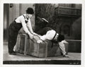 """Movie Posters:Comedy, Laurel and Hardy in """"The Music Box"""" (MGM, 1932). Still (8"""" X 10"""")....."""