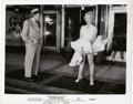 "Movie Posters:Comedy, Marilyn Monroe in ""The Seven Year Itch"" (20th Century Fox, 1955).Still (8"" X 10"").. ..."
