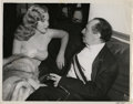 """Movie Posters:Comedy, Marilyn Monroe and Groucho Marx in """"Love Happy"""" (United Artists,1950). Still (8"""" X 10"""").. ..."""