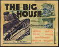 "Movie Posters:Drama, The Big House (MGM, 1930). Title Lobby Card (11"" X 14"") and Herald (5.5"" X 8.5""). Drama.. ... (Total: 2 Items)"
